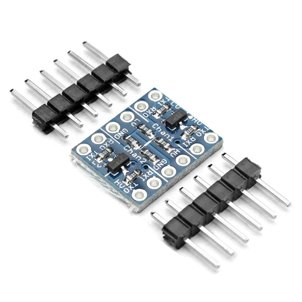 50-канальный двухканальный IIC I2C двунаправленный модуль преобразования уровня логики - 1TopShop