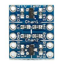 50-канальный двухканальный IIC I2C двунаправленный модуль преобразования уровня логики - 1TopShop, фото 2