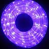 Гирлянда Дюралайт светодиодный шланг, Фиолетовый, круглый, 10м., фото 2