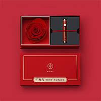 XIAOMI Luxury Metal Wood Fountain Ручка Подарок Коробка Набор Подарок на День Святого Валентина Бизнес Фонтан Ручка Офис Школа Студент Пишущий Ручка -