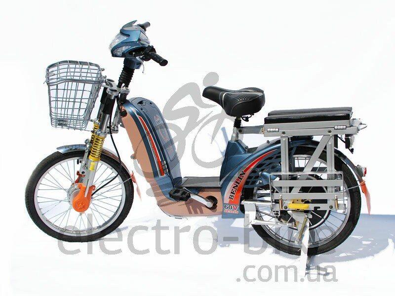 Электровелосипед BL-XL - 60 вольт 500 Вт