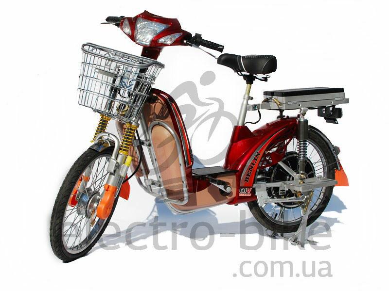 Электровелосипед BL-XXL - 60 вольт 500 Вт