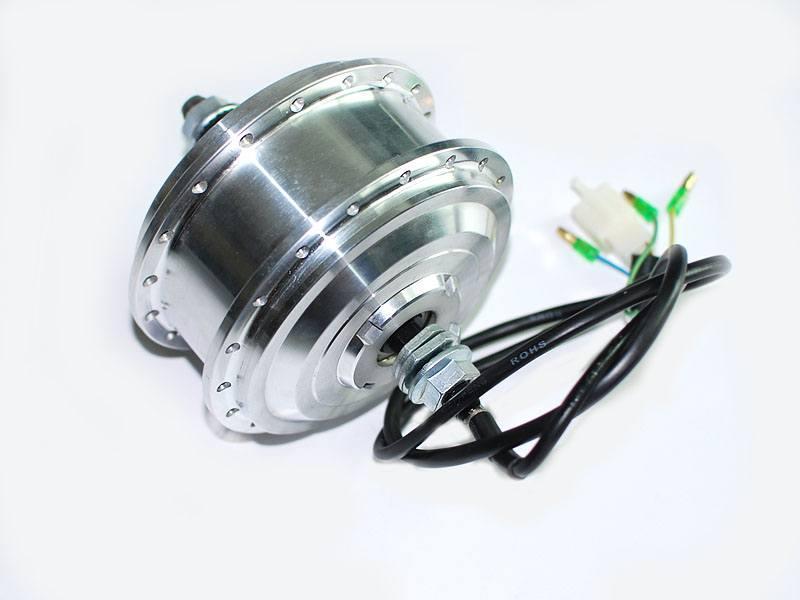 Мотор-колесо не заспицованное  для установки  на переднюю ось  36 вольт 350 Вт