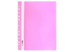 Папка  скоросшиватель пластиковый FORMAT А4, розовая