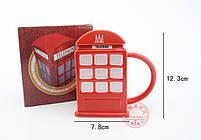 """Чашка """"London"""", Кружка керамическая """"Красная телефонная будка"""", фото 3"""