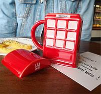"""Чашка """"London"""", Кружка керамическая """"Красная телефонная будка"""", фото 2"""