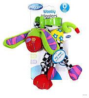 Игрушка на коляску Playgro Качающийся щенок, фото 1