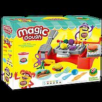 Набор пластилина Magic Dough. Tasty Food. Мягкое тесто пластилин. Яркие цвета