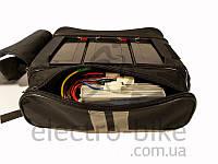 Сумка для 3-х аккумуляторов на багажник электровелосипеда, фото 1
