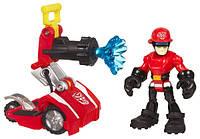 """Коди с пожарной мини-машиной """"Боты спасатели"""" - Cody&Hose, Rescue Bots, Hasbro, фото 1"""