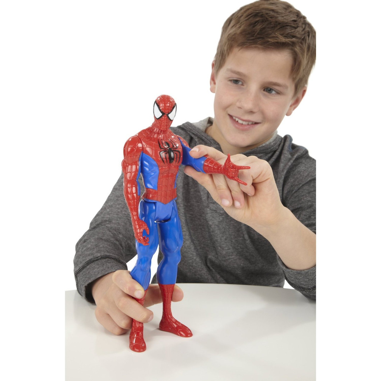 Большая игрушка Человек-Паук 30 см, серия Титаны -  Ultimate Spider-Man, Titans, Hasbro