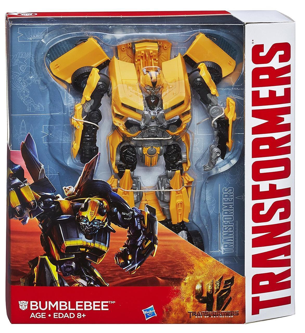 Робот-трансформер Бамблби Hasbro, Лидер Класс, 25см - Bumblebee, Эпоха Истребления