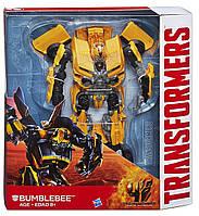 Робот-трансформер Бамблби Hasbro, Лидер Класс, 25см - Bumblebee, Эпоха Истребления, фото 1