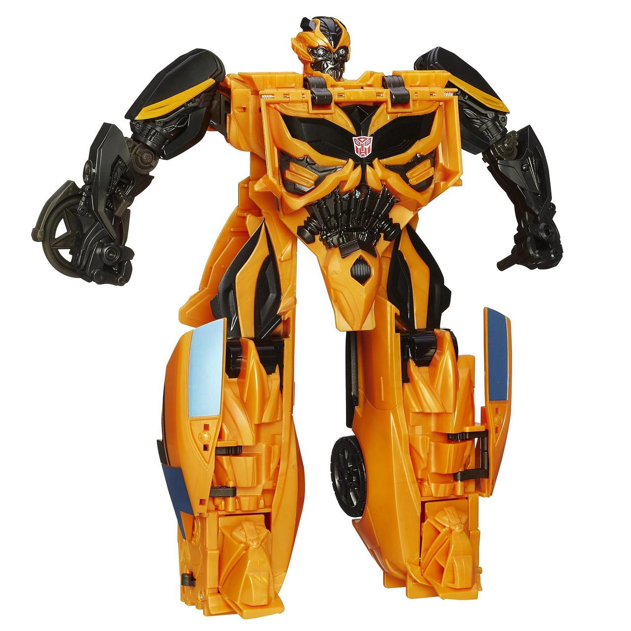 Большая игрушка Бамблби - Bumblebee, TF4, 1-Step Mega, Hasbro., фото 1
