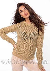 Красивый женский свитер (голубой,беж,пудра)
