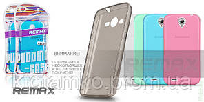 Чехол Ultra Thin Silicon Remax 0.2 mm Asus Zenfone 4 Pink