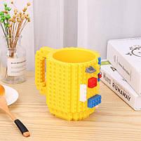 "Чашка ""Lego"", жовта, Кружка ""Лего"", фото 2"