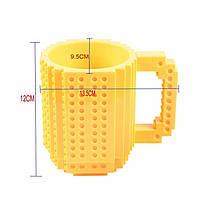 "Чашка ""Lego"", жовта, Кружка ""Лего"", фото 4"