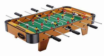 Футбол настольный ZC1001А, настольный футбол деревянный на ножках, детская игра, подарок