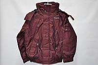 Куртка бордовая 8 лет (М)