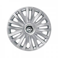 "Колпаки для колес 14"" c логотипом автомобиля 4 шт (SKS 217) Opel"