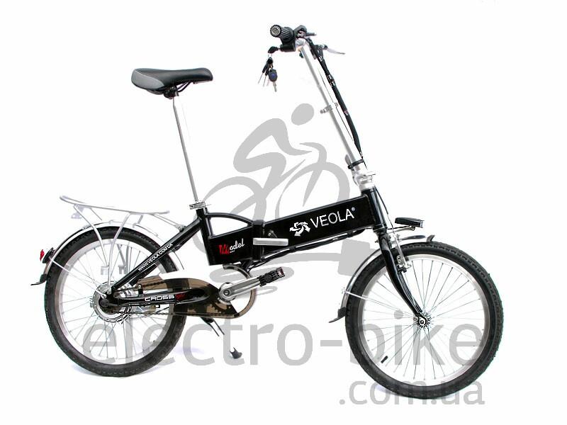 Электровелосипед BL-SL -36 вольт 250 Вт Black
