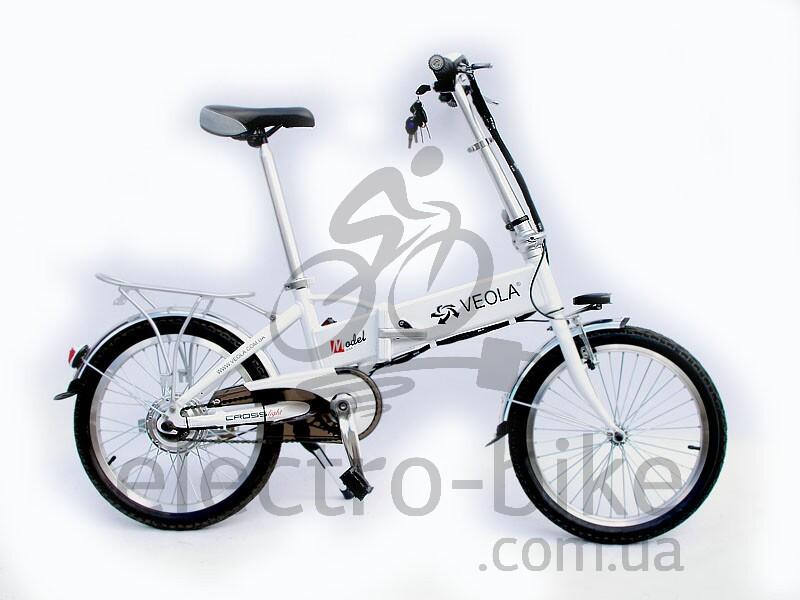Электровелосипед складной VEOLA  BL-SL -36 вольт 250 Вт Wite