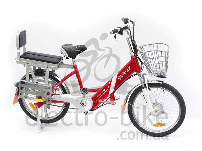 Электровелосипед VEOLA  BL-ZL -60 вольт 12 А/ч 400 Вт с литиевым аккумулятором