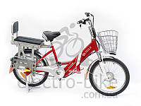 Электровелосипед VEOLA  BL-ZL -60 вольт 12 А/ч 400 Вт с литиевым аккумулятором, фото 1