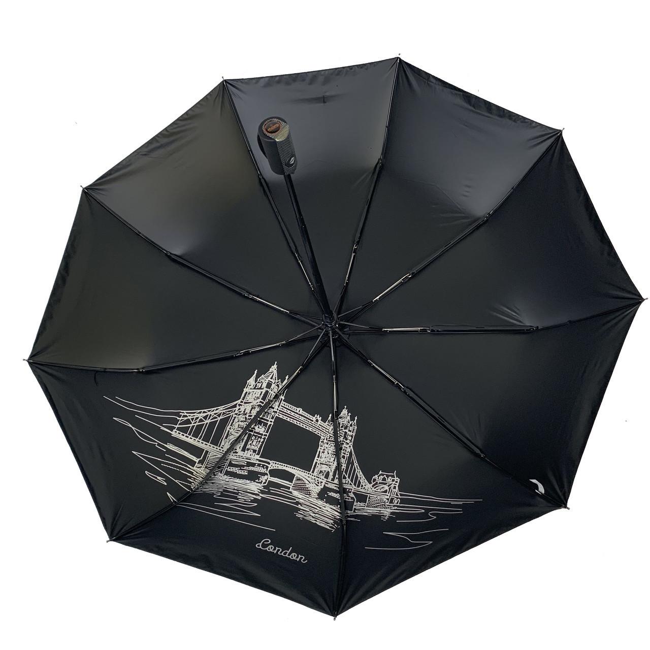 """Автоматический зонт с изображением Лондона от производителя """"Три слона"""", 627-2"""
