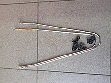 """Крылья велосипедные пластиковые 26"""", фото 3"""