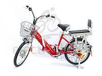 Электровелосипед VEOLA BL-ZL -60 вольт 10 А/ч 400 Вт с литиевым аккумулятором, фото 1