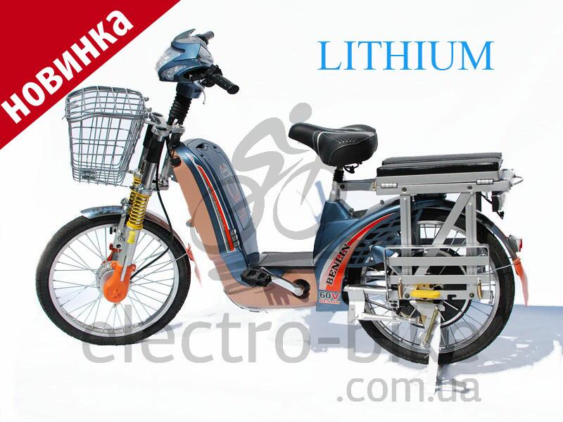 Электровелосипед BL- XL12 LITHIUM - 60V 500W