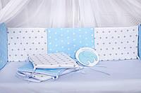 """Защита в кроватку Добрый Сон от комплекта  """"Есо"""" 8 шт. 01-02-01"""