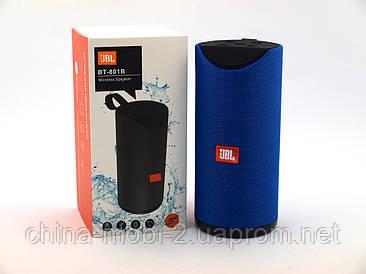 JBL BT801B копія, портативна колонка Bluetooth, синя