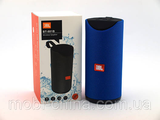 JBL BT801B копия, портативная колонка Bluetooth, синяя, фото 2