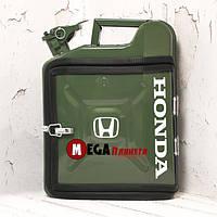 Канистра бар 10л с маркой авто Хонда / Honda Подарок водителю, мужчине