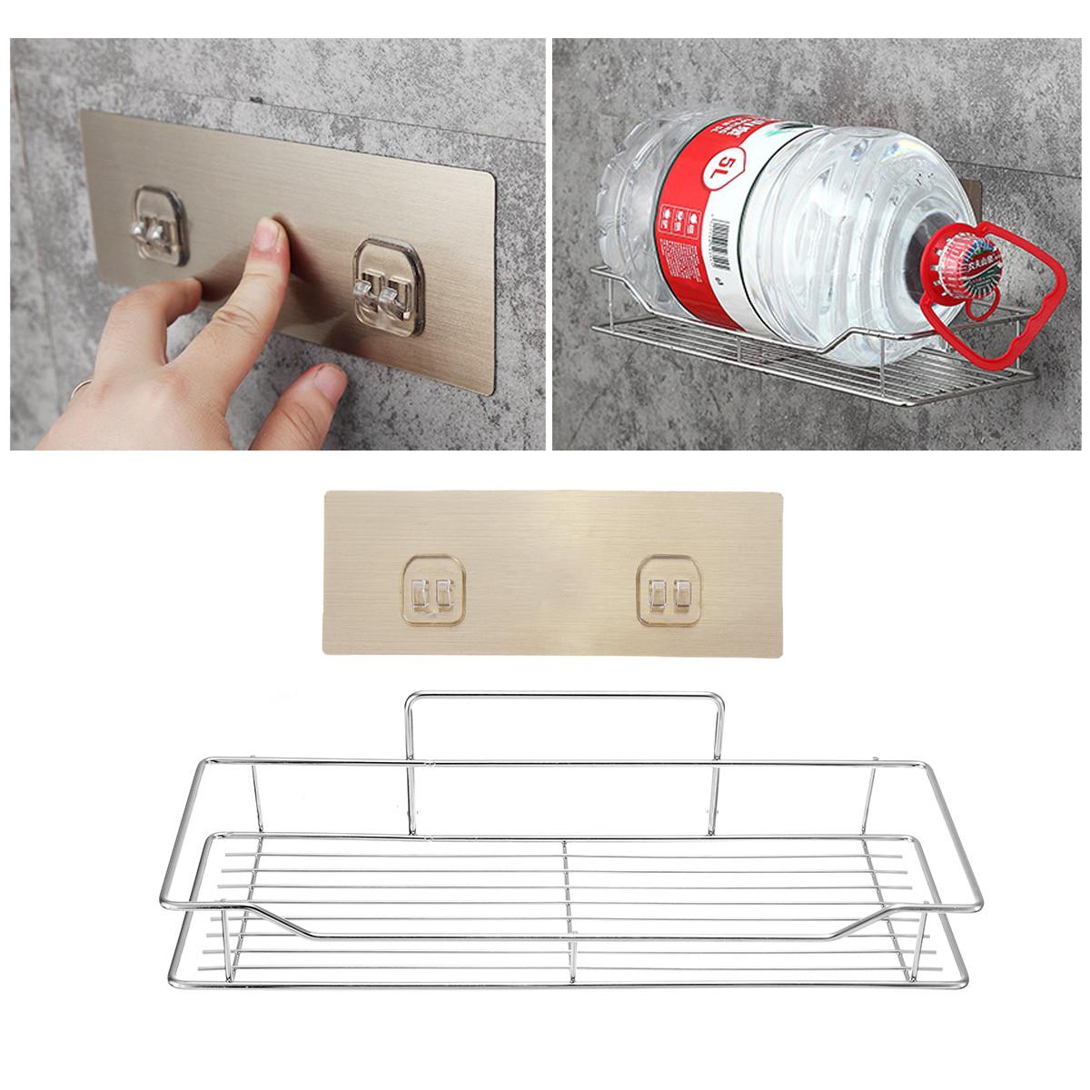 Нержавеющая сталь Ванная комната Кухонная полка для хранения кухонной стойки Корзина для мусора без ржавчины Caddy Tidy - 1TopShop
