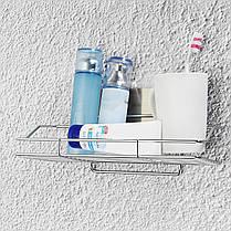 Нержавеющая сталь Ванная комната Кухонная полка для хранения кухонной стойки Корзина для мусора без ржавчины Caddy Tidy - 1TopShop, фото 3