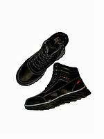 Зимние детские ботинки кроссовки для мальчиков 35-41