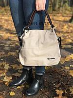 Кожаная женская сумка на плечо Weidipolo
