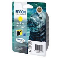Картридж EPSON St T30/40W TX550W/510FN/600 yellow (C13T10344A10)