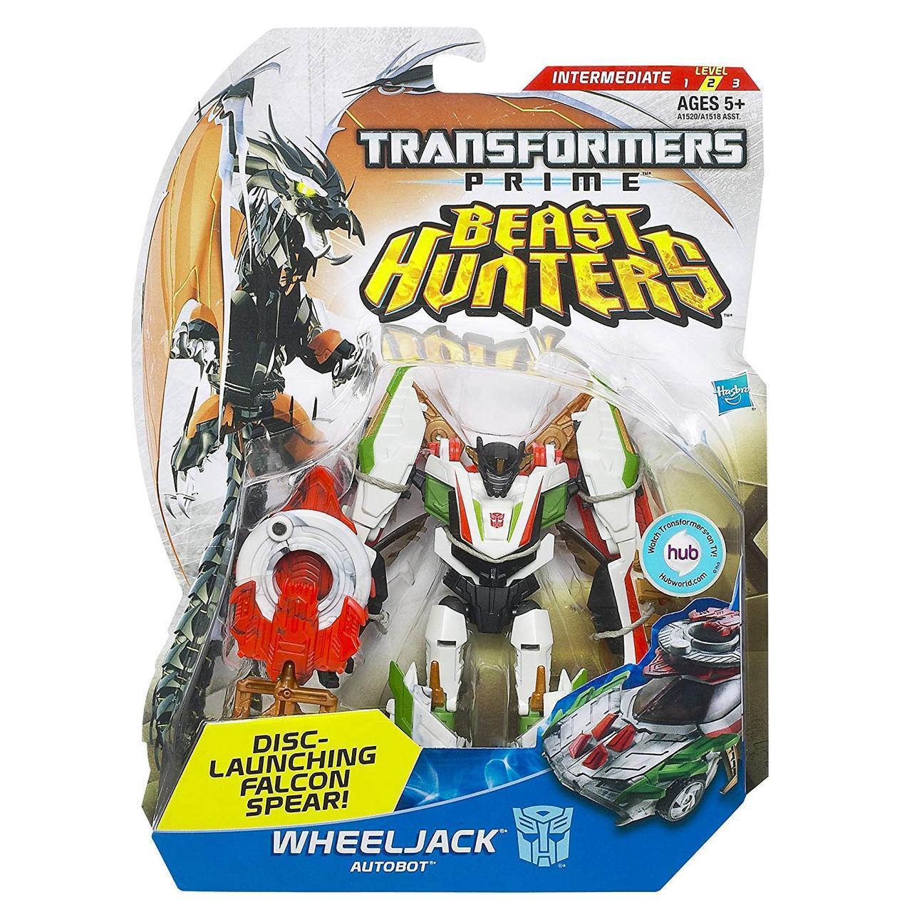 "Трансформер Уилджек ""Охотники на чудовищ"" - Wheeljack, TFP, Beast Hunters, Deluxe, Hasbro"