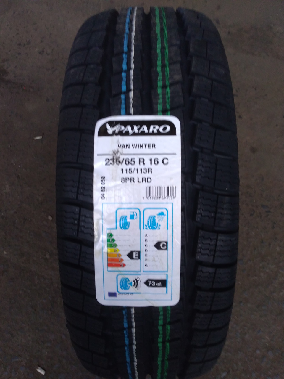 Нові зимові шини Paxaro 235/65 R 16C Van Winter [115/113]R