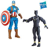 "Набор супергероев Черная Патера, капитан Америка ""Мстители"" - Captain America, Black Panther, Avengers, Hasbro, фото 1"