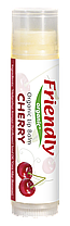 Органический бальзам для губ Friendly organic вишня 4,25 гр