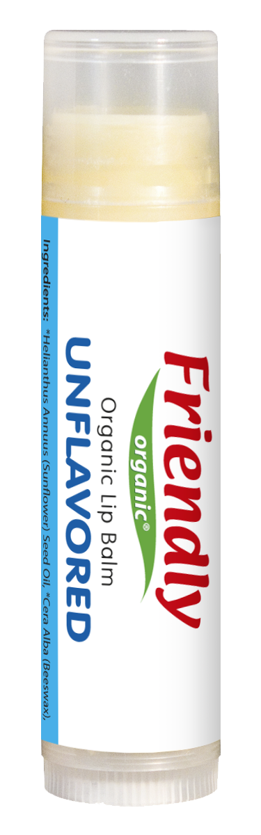 Органический бальзам для губ Friendly organic без запаха 4,25 гр