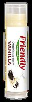 Органический бальзам для губ Friendly organic ваниль 4,25 гр