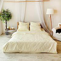 Комплект взрослого постельного белья Брейдж Страйп ТМ DS Home Line H01P, фото 1