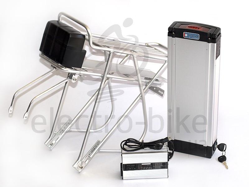 Аккумуляторная батарея для электровелосипедов LiNiCoMnO2 36V 13Ah с багажником